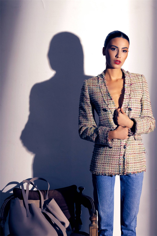 SEI Tweed Jacket